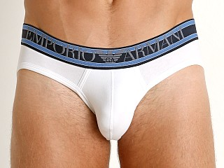 Emporio Armani Highlighted Logo Brief White