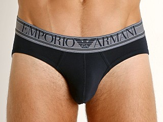 Emporio Armani Highlighted Logo Brief Marine