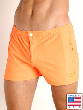 LASC Malibu Swim Shorts Neon Orange
