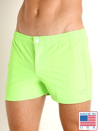 LASC Malibu Swim Shorts Neon Lime