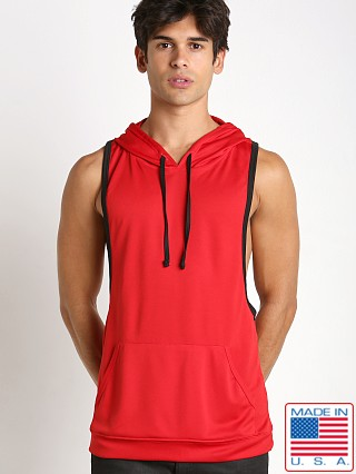 Pistol Pete Boxer Hoody Red
