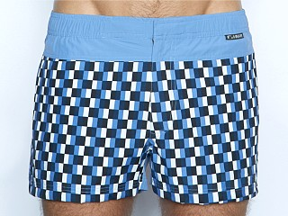 C-IN2 Woven Swim Shorts Blue Steel