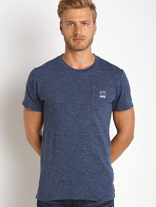 G-Star Classic Pocket T-Shirt Medium Aged Stripe