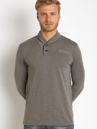 G-Star Gilik Long Sleeve Henley Grey