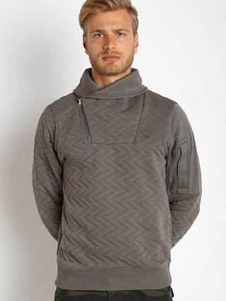 G-Star Batt Aero Utah Jacquard Sweater Grey