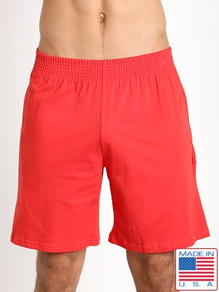 Pistol Pete Circuit 100% Cotton Short Red