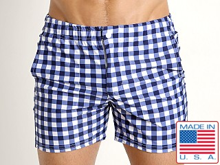 LASC Laguna Swim Shorts Blue Picnic