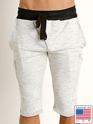 LASC Beach Jogger Short White Freckles