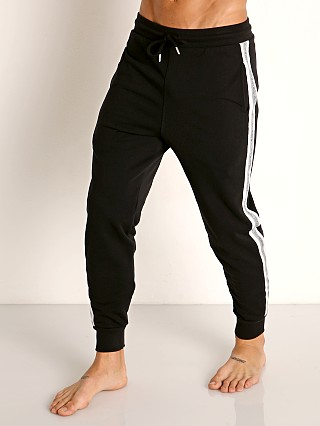 Model in black Diesel Peter Lounge Pants