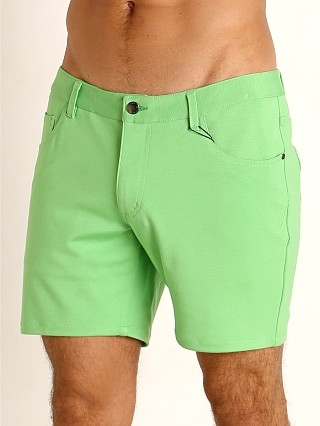You may also like: St33le Knit Jeans Shorts Matcha Latte