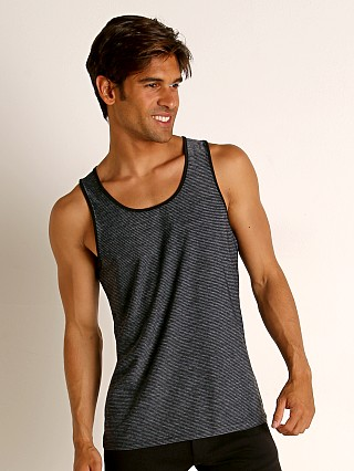 You may also like: St33le Engineered Stripes Stretch Performance Tank Top Grey/Blac