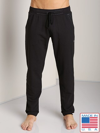 Sauvage French Terry Sweat Pants Black