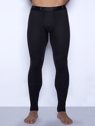 Model in black C-IN2 Core Long Johns
