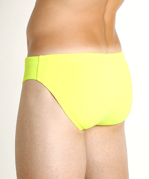 Emporio Armani Classic Low Swim Brief Giallo Fluo