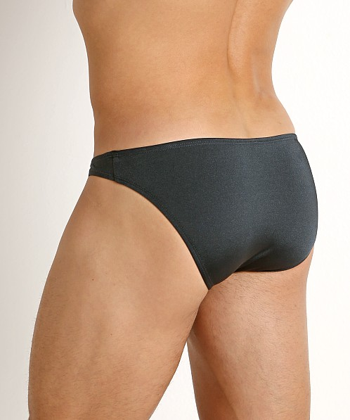 Rick Majors Power Spandex Super Low Rise Bikini Charcoal