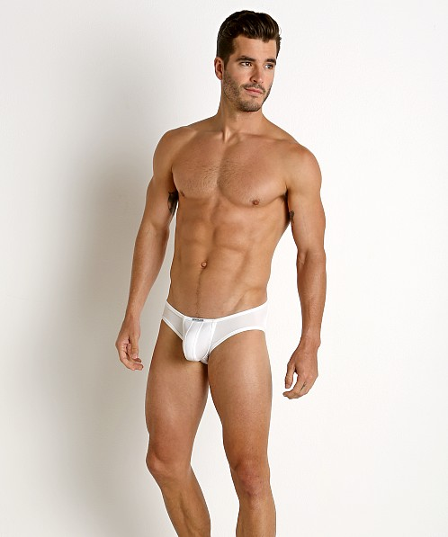 Rick Majors Power Spandex C-Ring Brief White