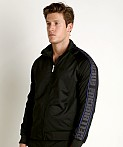Cell Block 13 Arena Track Jacket Black/Blue, view 3