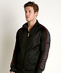 Cell Block 13 Arena Track Jacket Black/Red, view 3