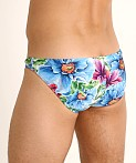 Rick Majors Super Low Rise Swim Brief Island Flowers, view 4