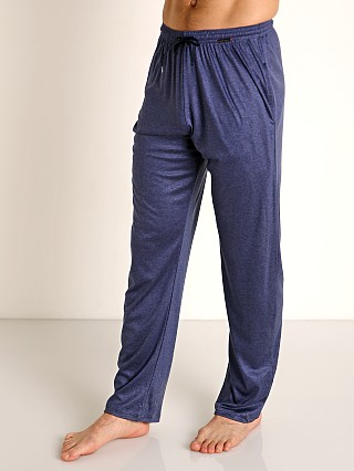 Model in sapphire Olaf Benz Pearl 2057 Luxury Modal Lounge Pants