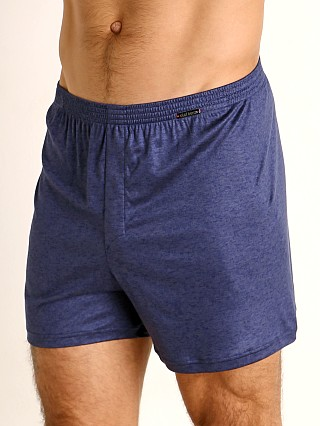 Model in sapphire Olaf Benz Pearl 2057 Luxury Modal Lounge Short