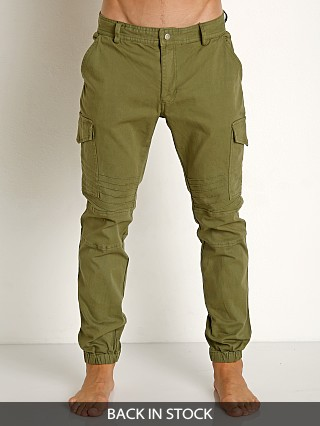 2xist Military Jogger Pants Ivy Green