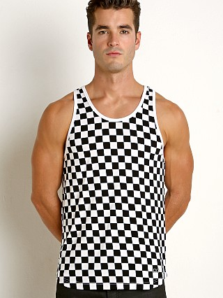 2xist Flecked Sport Tank Top Black/White
