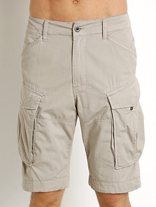 Model in brick G-Star Rovic Cargo Shorts