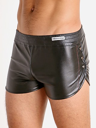 Modus Vivendi Leather Look Short Black