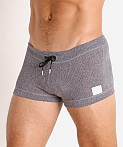Modus Vivendi Smooth Knit Short Charcoal Grey, view 3
