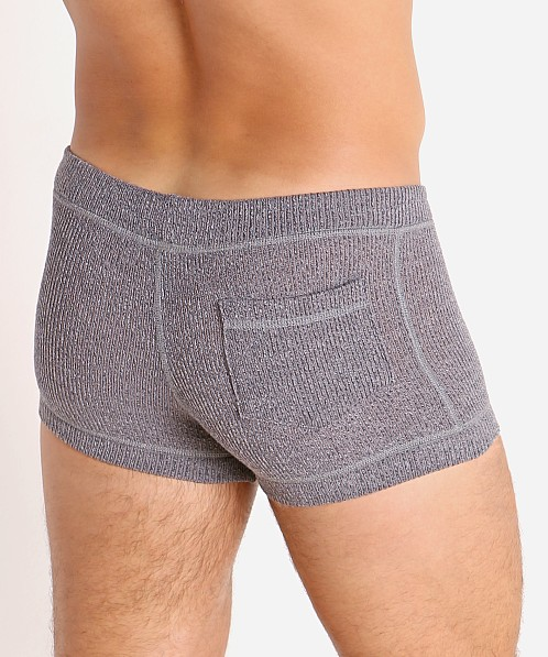 Modus Vivendi Smooth Knit Short Charcoal Grey