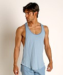 Go Softwear Moderne Classic Muscle Tank Top Slate Blue, view 3