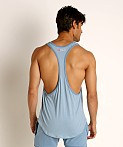 Go Softwear Moderne Classic Muscle Tank Top Slate Blue, view 4