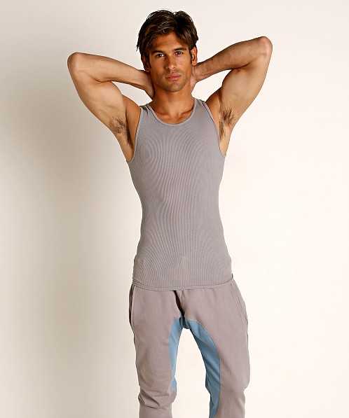 Go Softwear Moderne Ribbed Tank Top Pewter