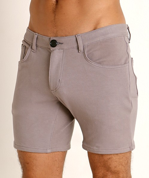 Go Softwear Moderne 5-Pocket Short Pewter