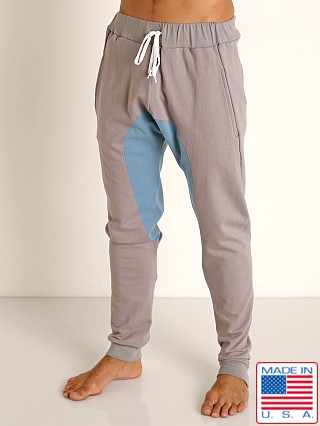 Model in pewter Go Softwear Moderne Jogger Pants