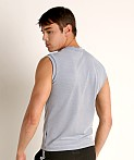 Sauvage Luxury Italian Muscle Tee Heather Grey, view 4