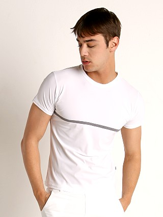 Complete the look: Sauvage Luxury Xtra-Life Nylon/Lycra T-Shirt White