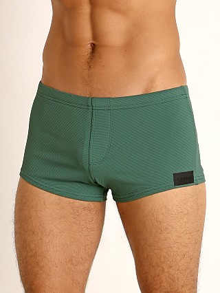You may also like: Sauvage Pique Textured Square Cut Swim Trunk Army