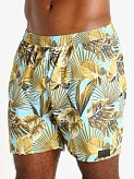 "Sauvage 17"" Pull-On Surf Trunk Maui Print, view 3"