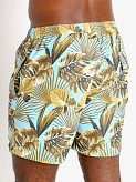 "Sauvage 17"" Pull-On Surf Trunk Maui Print, view 4"