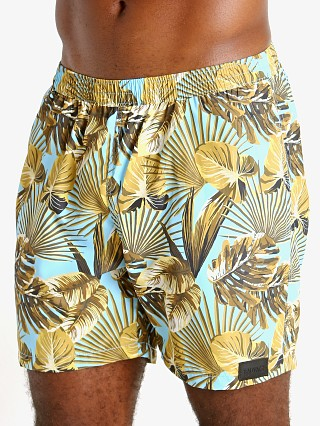 "Complete the look: Sauvage 17"" Pull-On Surf Trunk Maui Print"