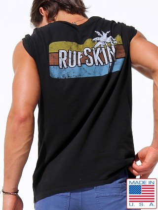 Rufskin Sunset SS Custom Graphic T-Shirt Black