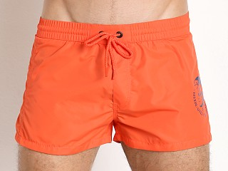 Diesel Mohican Logo Sandy Swim Shorts Orange