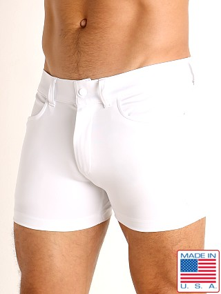 LASC Retroactive Scouting Shorts White