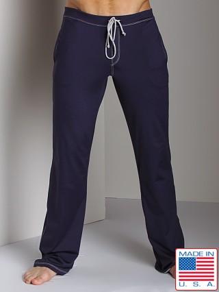 ecf795fa9e88f Sauvage Low Rise Nylon/Lycra Workout Pant Navy