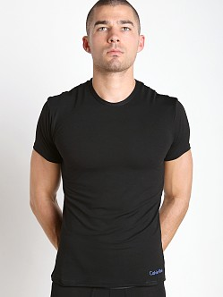 Calvin Klein Launch Air FX Micro Crew Neck T Shirt Black