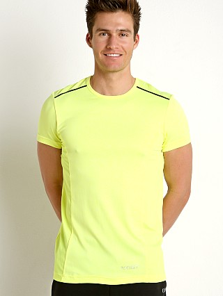 2xist Sport Tech Performance T-Shirt Neon Yellow