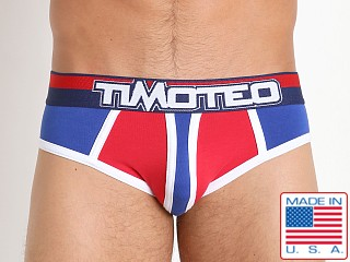 Timoteo Magnitude Backless Brief Blue/Red