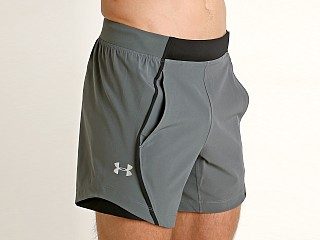 Under Armour Speedpocket 6'' Short Pitch Gray/Reflecti